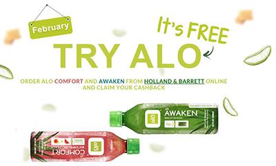 Free Alo Aloe Vera Drink