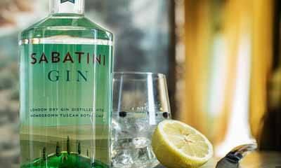 Free Bottle of Sabatini Gin