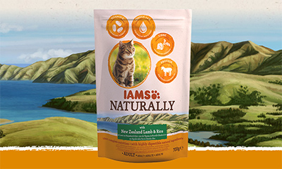 Free IAMS Naturally Cat Food