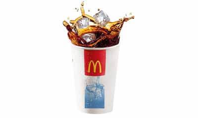 Free McDonald's Coca-Cola
