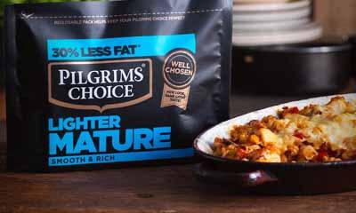 Free Pilgrims Choice Lighter Mature Cheese