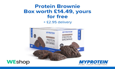 Free Protein Brownie Box