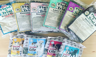 Free Skinners Dog Food Samples