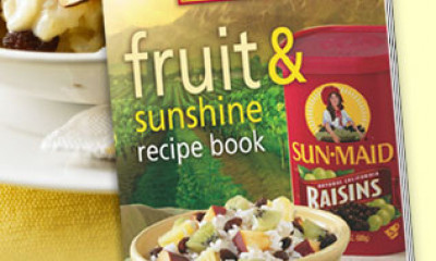 Free Sun-Maid Raisins Recipe Book
