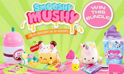 Win a Smooshy Mushy Core Collection