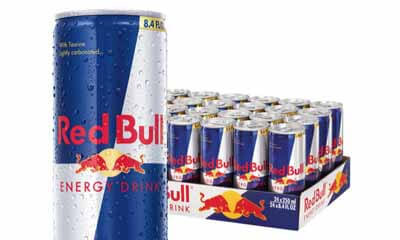 Free 4-Packs of Red Bull