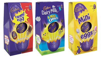 Get 4 x Free Cadbury Easter Eggs