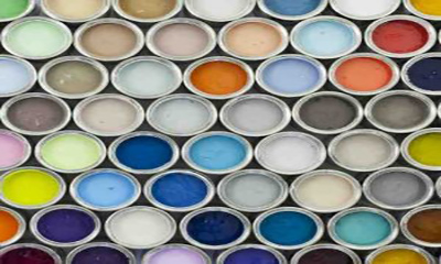 Free Colourful Paint Pots
