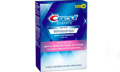Free Crest Teeth Whitening Strips