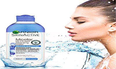 Free Garnier Delicate Skin and Eyes Micellar Water