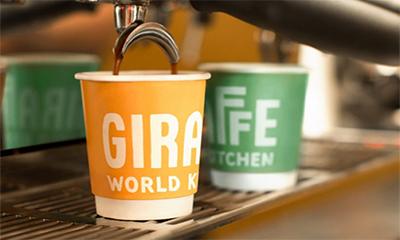 Free Giraffe Kitchen Coffee