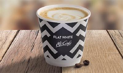 Free McDonalds Flat White Coffee