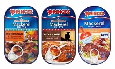 Free Pack of Princes Mackrel