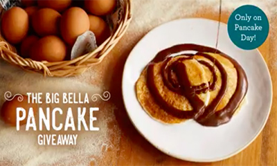 Free Pancakes At Bella Italia