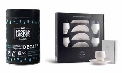 Free Tins of Coffee & Espresso Coffee Cups Gift Set