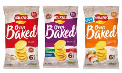 Free Walkers Oven Baked Crisps 6 Pack
