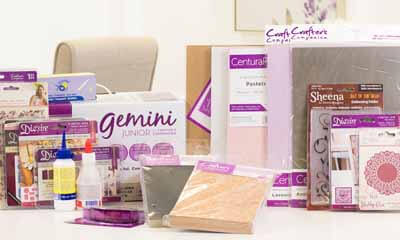 Win a Gemini Die-cutting and Embossing Crafters Kit