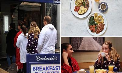 Free Breakfast at Carluccio's