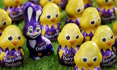 Free Cadbury Easter Eggs & Bunnies