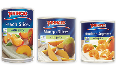 Free Can of Princes Fruit