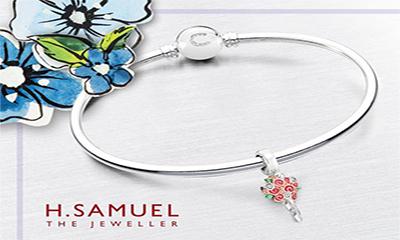 Free Chamilia Flower Bouquet Bracelet