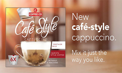 Free Coffee Co Cafe-Style Cappuccino
