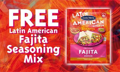 Free Fajita Seasoning Kit