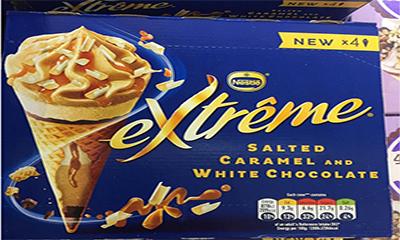 Free Nestle Salted Caramel Ice Cream