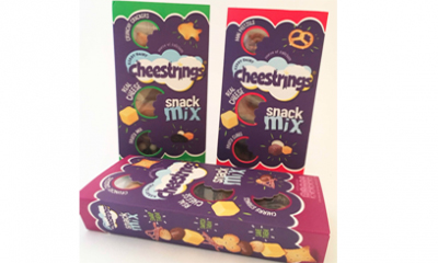 Free Pack of New Cheestrings Snack Mix