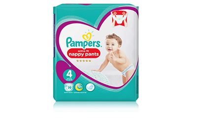 Free Pack of Pampers Nappy Pants