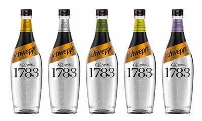 Free Schweppes 1783 Ginger Ale & Tonic Water