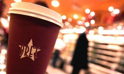 Free Tea or Coffee from Pret