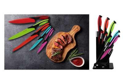 Win a Colourful Knife Set