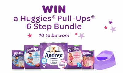 Win a Huggies Pull-Ups 6 Step Bundle