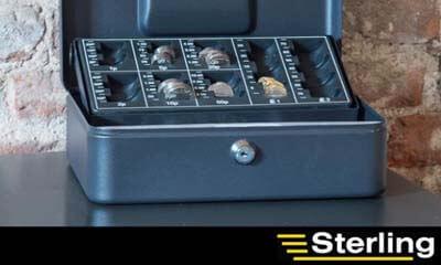 Win a Sterling Cash Box