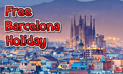 Free Barcelona Holiday