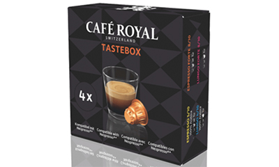 Free Cafe Royal Coffee Box