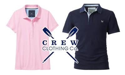 Free Crew Clothing His & Hers Heritage Polo Shirts