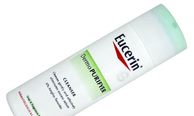 Free Eucerin DermoPurifyer Face Cream and Cleanser