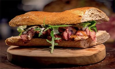 Free Steak Sandwich