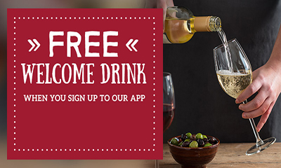 Free Toby Carvery Welcome Drink
