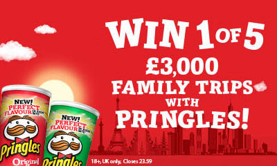 Win a Family Holiday with Pringles & ASDA