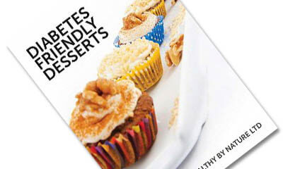Free Diabetes Dessert Friendly Recipe Book