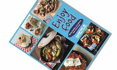 Free 'Enjoy Food' Cookbooks