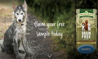 Free James Wellbeloved Dog Food