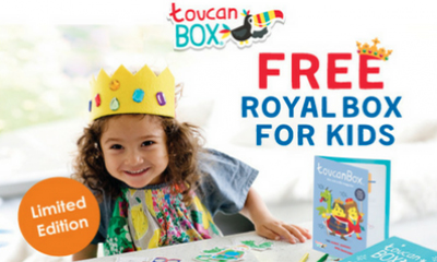 Free Limited Edition Royal Wedding Craft Box