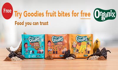 Free Organic Fruit & Seed Bites