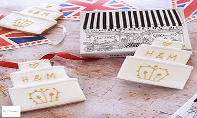 Free Royal Wedding Biscuit