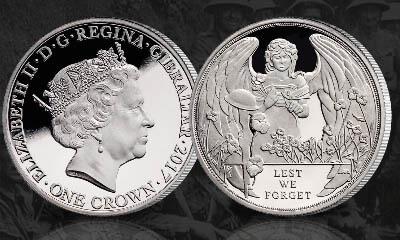 Free Silver WW1 Centenary Coin