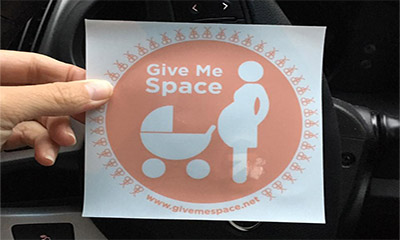 Free Baby Car Stickers